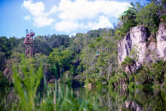 Fun Things to do in Ocala, FL - Canyons Zipline Tours